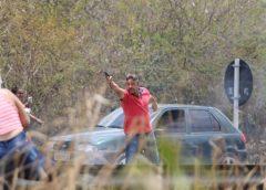 Homem dispara arma de fogo em protesto de mulheres na BR-116 e é preso