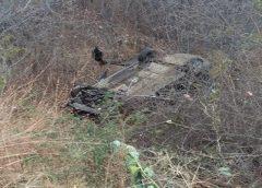 Cinco pessoas da mesma família sofrem acidente de carro na BR 230 na cidade de Cajazeiras
