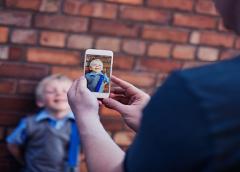 Aos 13 anos, cada criança terá 1.300 fotos e vídeos postados na internet