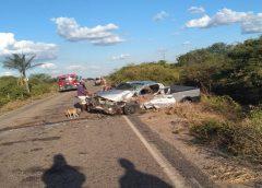 Empresário do Ceará morre após se envolver em acidente de trânsito na PE-122 em Exu, no Sertão
