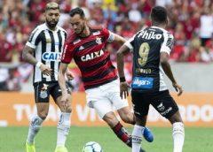 Gabigol perde pênalti e Flamengo vence Santos no Maracanã