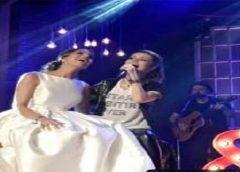 Noiva sai de seu próprio casamento para ir a show de Sandy, confira vídeo e fotos!