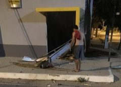 Bandidos atacam cidade de Groaíras e explodem agência do Banco do Brasil