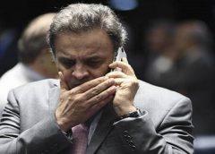 Ministro do STF rejeitou prisão domiciliar para Aécio Neves