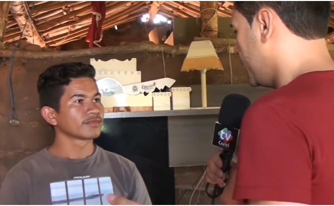História do jovem agricultor do Sítio Logradouro na cidade de Mauriti-CE