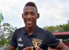 São Paulo anuncia contratação do lateral-esquerdo Léo, ex-Bahia