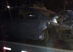 Motorista invade calçada e atropela oito pessoas em Crateús; pelo menos um homem morreu