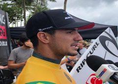 Medina celebra vitória e diz não pensar nos resultados dos concorrentes ao título