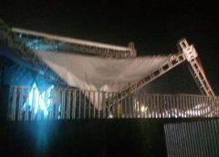 Show de Anitta no Ceará é interrompido após queda de parte da estrutura do palco
