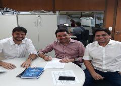 EM FORTALEZA  Prefeito Lielson Landim garante R$ 7 milhões para melhoria em abastecimentos D´água
