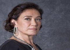 """Lilia Cabral chora e depois reclama de pizza servida no """"Faustão"""""""