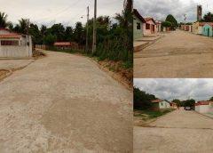 Milagres-CE:  Prefeito Lielson Landim cumpre promessa e finaliza pavimentação da Vila Mingú