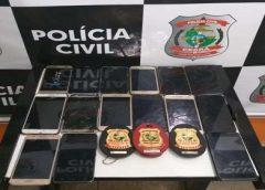 Cerca de 15 celulares roubados em Juazeiro do Norte são recuperados após operação