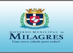 Governo de Milagres cobra da CAGECE solução para falta de abastecimento de água