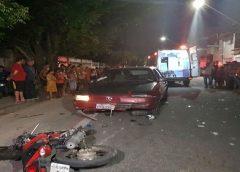 Motorista sob efeito de álcool atropela motociclista e é preso em flagrante em Fortaleza