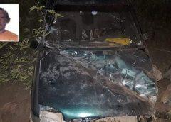 Mauriti-CE: Mais um acidente com vítima fatal ocorreu na CE 152 próximo ao Distrito de São Félix.