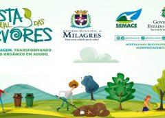 Governo de Milagres realiza a Festa Anual das Árvores 2019 em parceria com o Governo do Estado