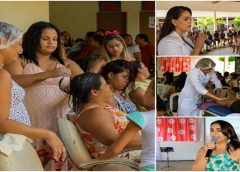 Dia Internacional da Mulher: quase 300 mulheres prestigiaram a programação especial em sua homenagem