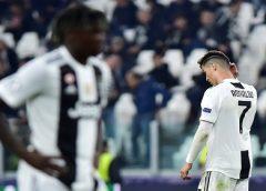 Ações da Juventus vão do recorde à queda livre depois da eliminação na Liga dos Campeões