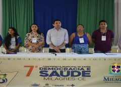Democracia e Saúde: Governo de Milagres realiza VII Conferência Municipal de Saúde