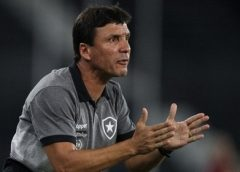 Zé Ricardo não resiste a nova eliminação e é demitido do Botafogo