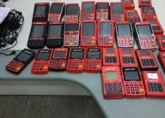 Homem suspeito de aplicar golpes é preso em Fortaleza com 32 máquinas de cartão