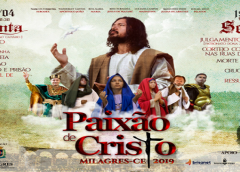 Governo de Milagres realiza pelo segundo ano consecutivo o grande espetáculo da Paixão de Cristo