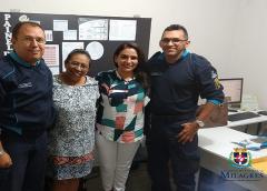 Governo de Milagres firma parceria com a Policia Militar para implantação do PROERD no município
