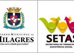Governo de Milagres torna público edital para contratação de Visitadores do Programa Criança Feliz