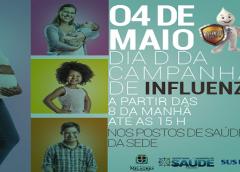 """Governo de Milagres promove neste sábado (04) Dia """"D"""" Municipal de Vacinação contra Influenza"""