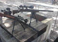 Fuzil e dois rifles são encontrados em matagal dentro de campus da Universidade Federal do Ceará