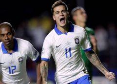 Brasil vence Bolívia pela estreia da Copa América, em São Paulo