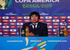 Técnico do Japão discorda de VAR e acredita que poderia ter vencido o Uruguai