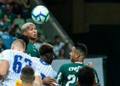 Palmeiras vence e fica na liderança durante pausa para Copa América