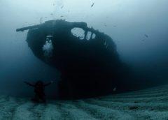 Com uma centena de embarcações naufragadas, litoral do Ceará abriga navio desde a época da Segunda Guerra Mundial