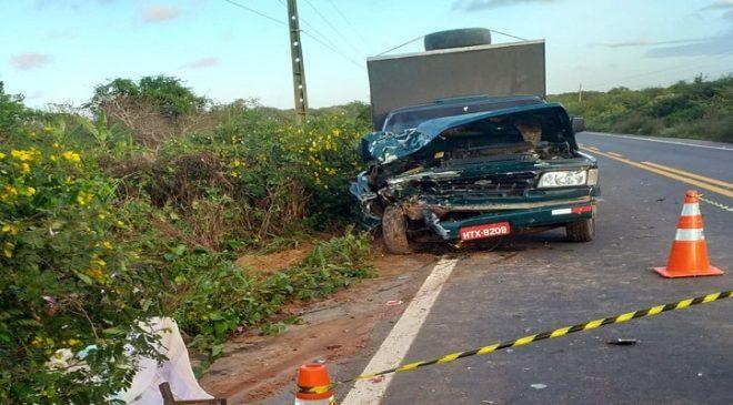 Duas pessoas morrem e três ficam feridas em acidentes no Ceará em 24 horas