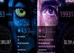 """Vingadores x Avatar tem """"placar ao vivo"""" de bilheteria no YouTube"""