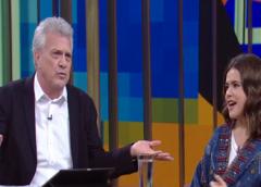 """Liberado pela Globo, Pedro Bial grava o """"Programa da Maisa"""""""