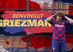 Jornal: Atlético faz denúncia na Liga Espanhola e cobra R$ 334 milhões do Barcelona por Griezmann