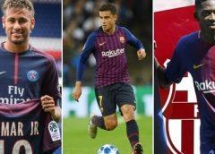 Barça oferece Coutinho, Dembélé e 40 mi euros por Neymar, diz jornal