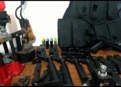 Polícia acha fábrica clandestina de armas, munições e explosivos na Zona Norte do Rio