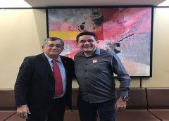 BRASÍLIA  -Prefeito Lielson Landim mantém reuniões com deputados em busca de recursos para destravar obras