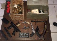 Fábrica artesanal de armas é desativada na Grande Fortaleza durante ocorrência de violência doméstica