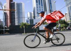 25% das entregas e fretes em Fortaleza são feitos com bicicletas, e 50% com motocicletas