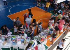 Bazar com itens de decoração e produtos eletrônicos levanta recursos para projetos sociais no Ceará