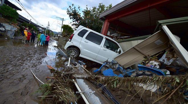 Nº de mortos após passagem de tufão passa de 60 no Japão