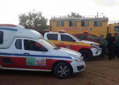 Incêndio de grandes proporções atinge comunidades na zona rural de Boa Viagem