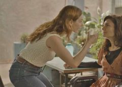 """""""Amor de Mãe"""": Betina joga água na cara de Leila"""