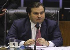 Rodrigo Maia critica Fux por suspender juiz de garantias
