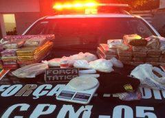 Quase 40 kg de maconha são encontrados em baldes enterrados em quintal; suspeito é preso na Grande Fortaleza